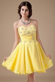 yellow short prom dresses victoriaprom com