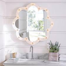 light up floor mirror clover light up mirror pbteen