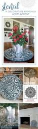 Yoga Home Decor by Best 25 Mandala Stencils Ideas On Pinterest Stencil Patterns