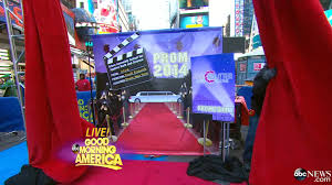 hollywood photo booth layout good morning america announces prom photo booth surprise news
