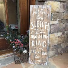plank wood centerpiece box or round wood sign workshop any size