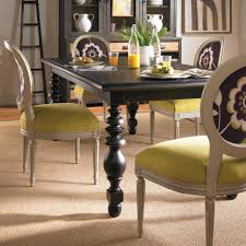 vanguard yates dining table customizable designer dining room tables