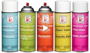 Design Master Spray Paint