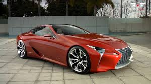 lexus lf lc tail lights lexus lf lc 2 2 sport concept hybrid youtube