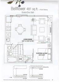 West Wing Floor Plan Gramercy Park Condominium Residences 525 Wilson Ave Toronto