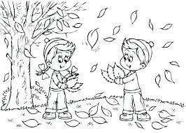 coloring page of fall coloring pages fall printable leaf coloring sheet autumn leaf