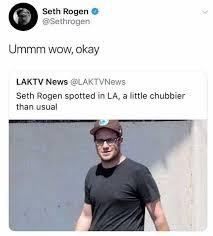 Seth Rogen Meme - dopl3r com memes seth rogen sethrogen ummm wow okay laktv news