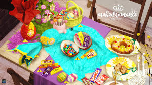 Easter Decorations To Buy by My Sims 4 Blog Easter Decor And Poses By Inabadromance