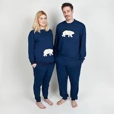 his and hers pyjamas polar by pj mamma notonthehighstreet