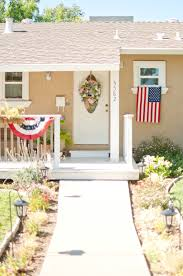 Porch Flags Domestic Fashionista 4th Of July Porch