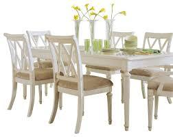 dining room set for 8 american drew camden light piece leg in