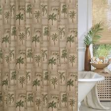 Shower Curtains With Trees Palm Tree Shower Curtain Home Kitchen