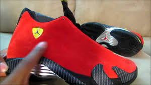 michael jordan ferrari air jordan 14 u0027ferrari u0027 video review youtube
