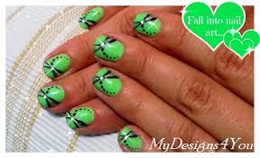 green nail art ideas images nail art designs