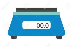balance de cuisine plate cuisine électronique inclus balances de cuisine vecteur isolées et