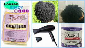 coke blowout hairstyle how to loosening kinky curly hair with baking soda youtube