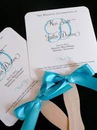 wedding program fan sticks 85 on etsy for 100 105 if i want rounded corners and holes in