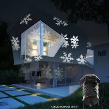 Christmas Lights Projector On House by Magicfly Rotating Projection Led Lights Snowflake Spotlight 10pcs