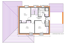 plan maison 4 chambres etage 123m 4 chambres etage plan maison house