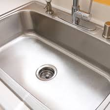 shine stainless steel sink how to clean your stainless steel sink popsugar smart living