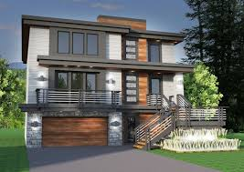 Sloping Lot House Plans Amazing Modern House Plans For Sloped Lots Desig Momchuri
