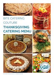 thanksgiving catering bite catering los angeles