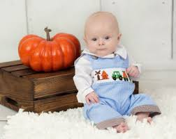 Thanksgiving Dresses For Infants Boys Country Etsy
