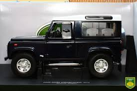 land rover defender black brushwood toys universal hobbies 1 18th exact scale replica