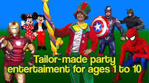 Halloween Party Entertainers Rabbie Fun Childrens Party Entertainer London Youtube
