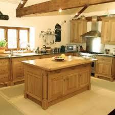 Light Oak Kitchen Kitchens Warren Hughes Furniture