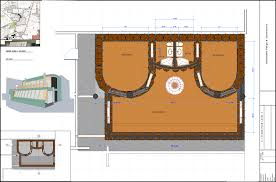 2 bed 4 bath two level earthship construction drawings food