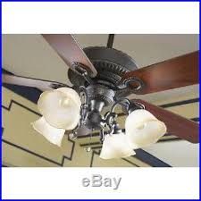Harbor Breeze Ceiling Fan Light Kit Breeze Edenton 52 Aged Bronze Ceiling Fan With Light Kit New In Box