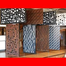 cutout quality security laser cut space screens custom screens