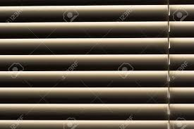 Blinds Up Closed Window Blinds Dust Could Be Seen Close Up Stock Photo