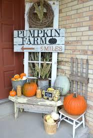 farmhouse fall porch little vintage nest