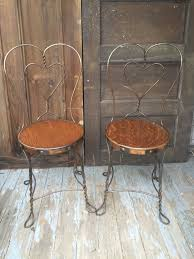 Living Room Vs Parlor Antique Wrought Iron Ice Cream Parlor Chairs Ice Cream Parlor