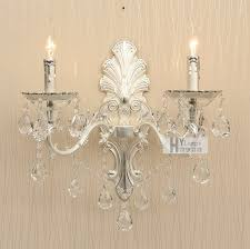 Silver Candle Wall Sconces Crystal Wall Sconces Schonbek Century Wall Sconce Empire
