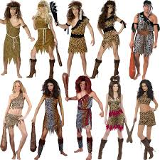 caveman halloween costume new jungle cavewoman caveman flintstones prehistoric fancy dress