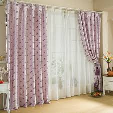 curtain designer lavender color romantic style designer curtains uk
