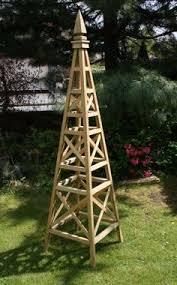 Outdoor Garden Crafts - garden obelisk plans outdoor plans and projects woodarchivist