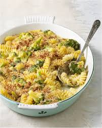 baked broccoli mac cheese healthy recipe thanksgiving side dish