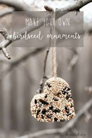 how to make a bird seed ornament bird seed ornaments ornament