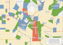 los angeles suburbs map this map shows where gentrification is happening across los