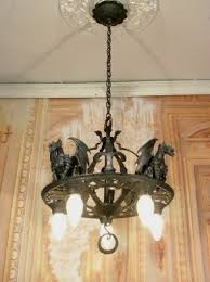 Antique Iron Chandeliers Gothic Chandelier Foter