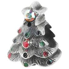 zable sterling silver tree bead charm