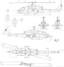 tn blueprints the blueprints com blueprints u003e helicopters u003e bell u003e bell ah 1w