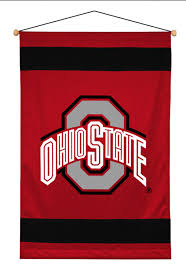 wall hangings college obedding com ncaa ohio state buckeyes jersey wall hanging