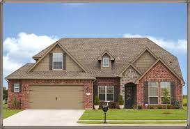 exterior paint color schemes for brick homes exterior