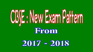 cbse new examination pattern 2017 2018 onward class 10 new exam
