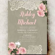 rustic chic wedding invitations shabby chic wedding invitations marialonghi